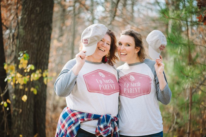 The Most Comfy Baseball Tee in the World | Affiliate Graphix Collaboration with Up North Parent