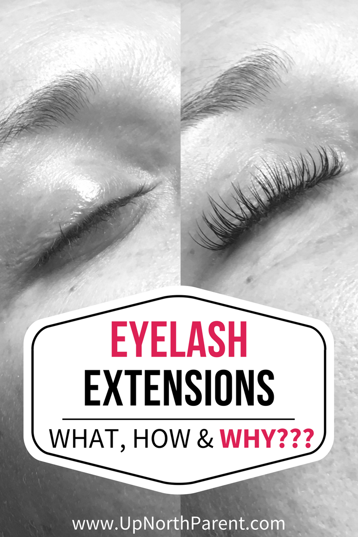 Eyelash extensions make it easy to wake up with a face ready to take on the day, no mascara needed. Perfect for busy moms who want to a confidence boost, especially during a time of life that can feel a little less than put together! #lashextensions #beauty #makeupfree #eyelash #extensions