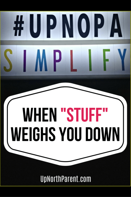 When Stuff Weighs You Down | The Simplicity Project