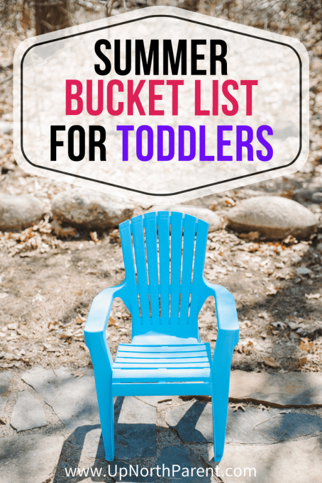 Summer Bucket List for Toddlers