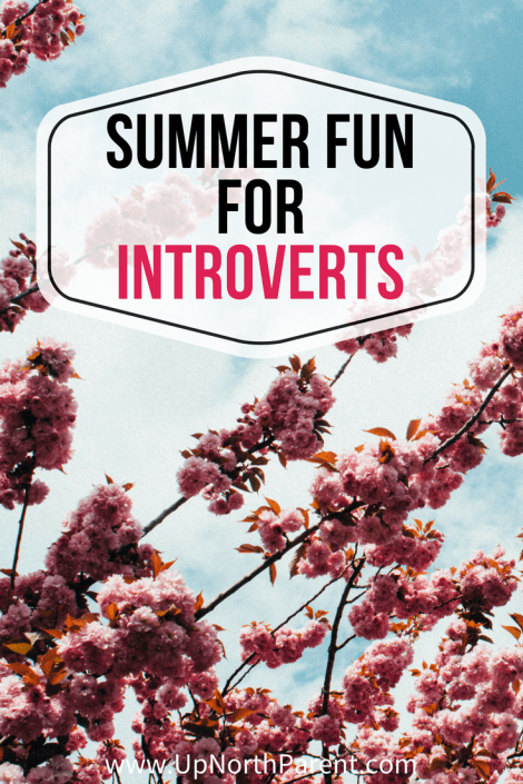 Summer Fun for Introverts by Up North Parent