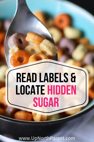 Look Closely: Reading Labels to Locate Hidden Sugar