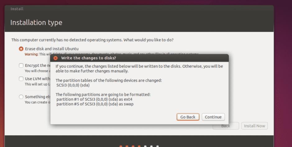 Install Ubuntu screen