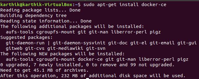 Install Docker CE