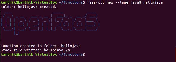 Create New Java Function