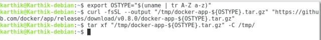 Docker App Installation