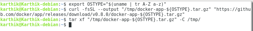 Docker App Installation