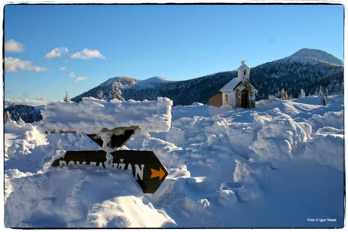 Zima na Zavižanu