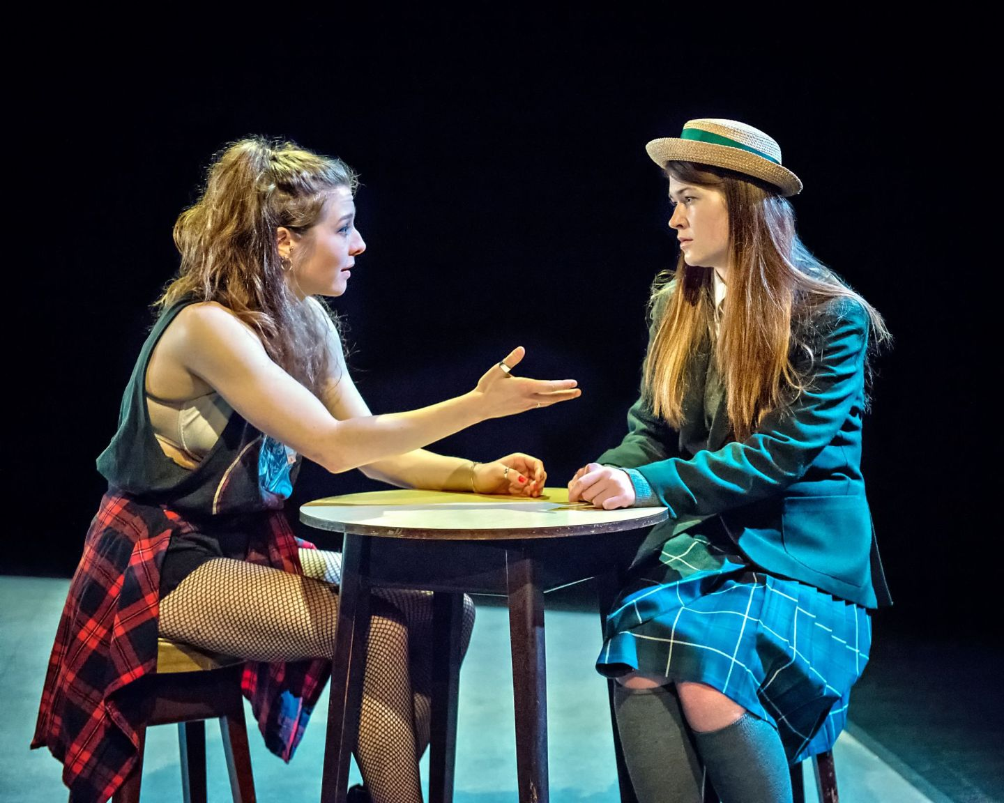 Review: ★★★★ A Girl In School Uniform Walks Into A Bar, New Diorama Theatre