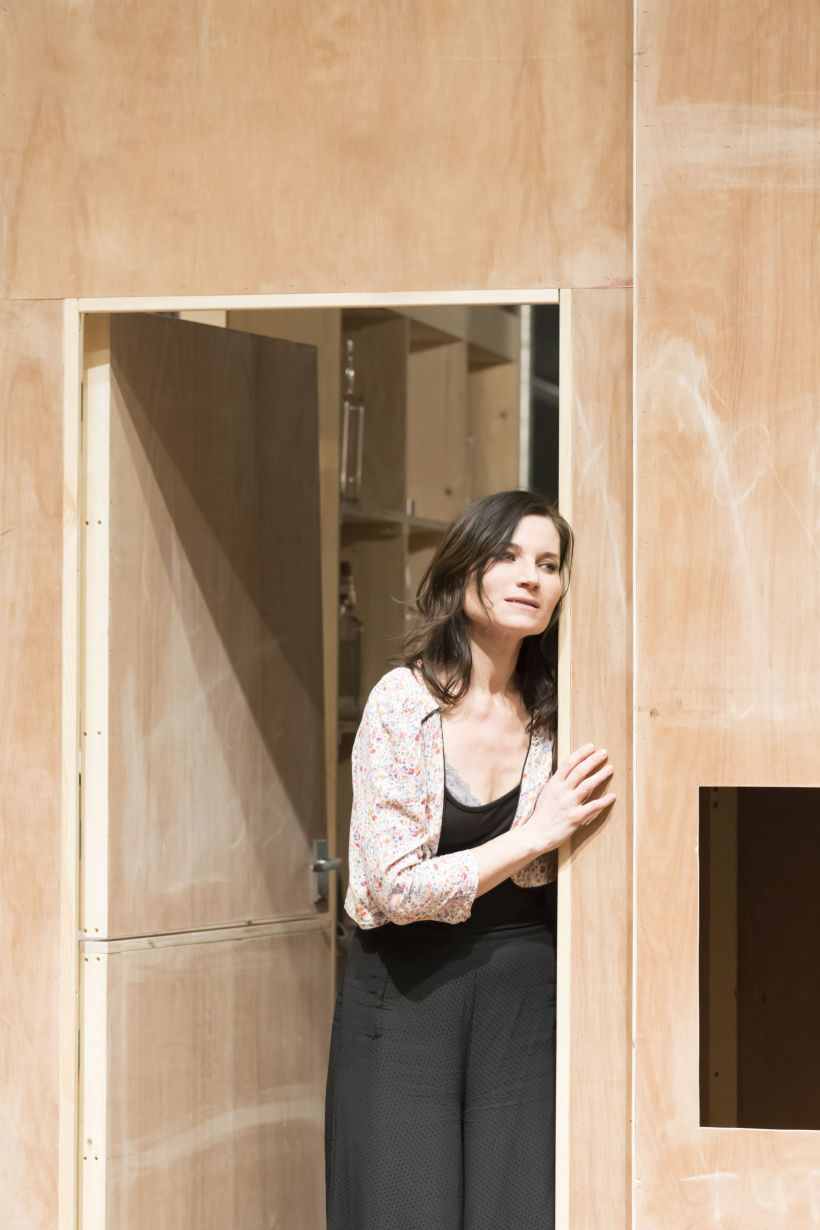1. Kate Fleetwood in rehearsal for Absolute Hell (c) Johan Persson