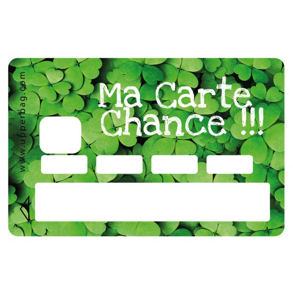 Sticker CB Carte Chance Upperbag