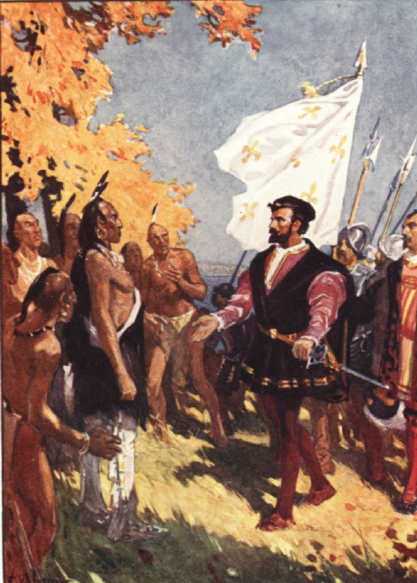 Early Canada Historical Narratives    JACQUES CARTIER Cartier and Natives