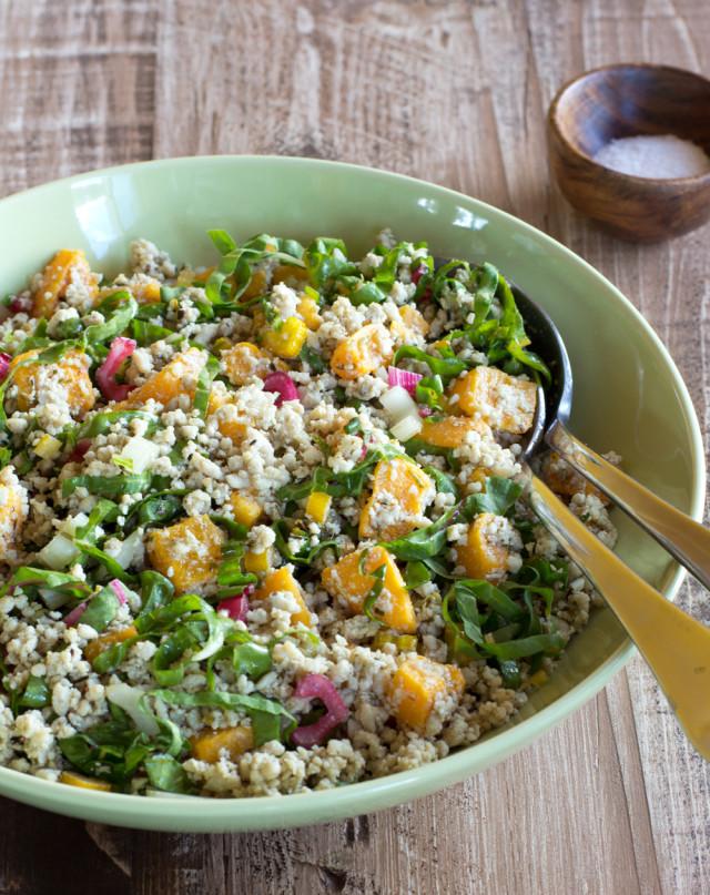 chicken grain salad