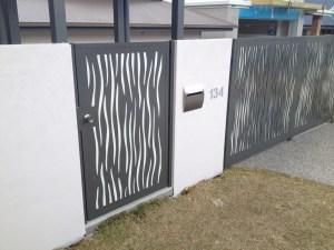 Aluminium Lasercut Gates South Brisbane