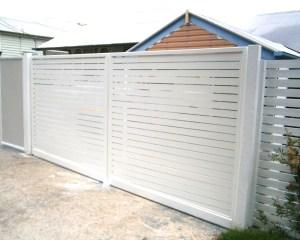 Aluminium Slat Swing Gates Brisbane
