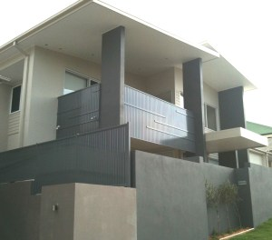 Aluminium Slats fence