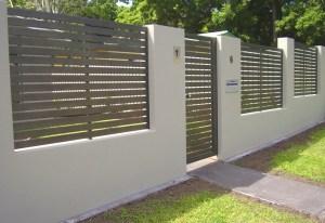 Aluminium Slatted Fencing Brisbane