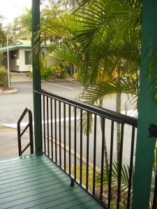 Aluminium balcony balustrade