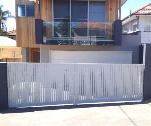 Aluminium slat Swing Gate