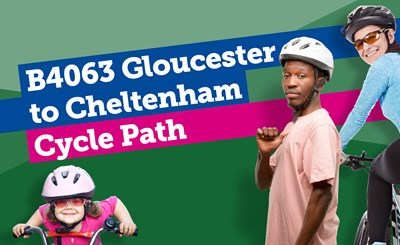 New landmark cycle path connecting Gloucester and Cheltenham