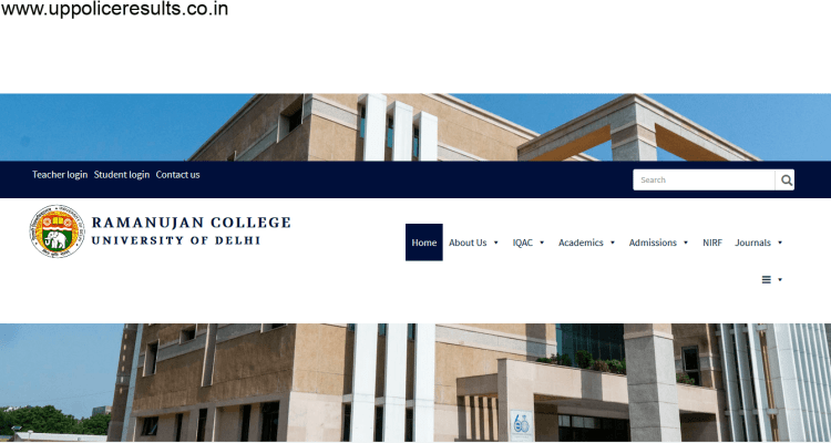 Recruitment Ramanujan College 2021 :Apply online for Non Teaching post 14