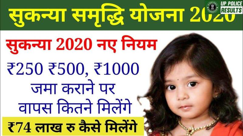 SSY Sukanya Smaridhi yojana benefits,how to apply and check out other details