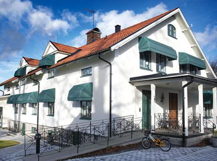 Sienna fönstermarkis - Sienna är en korgmarkis för fönster