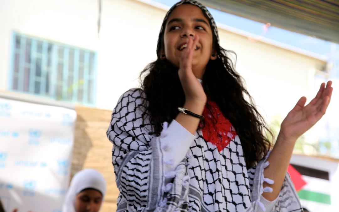 الأونروا واليونيسف تحتفلان بالعودة إلى المدارس