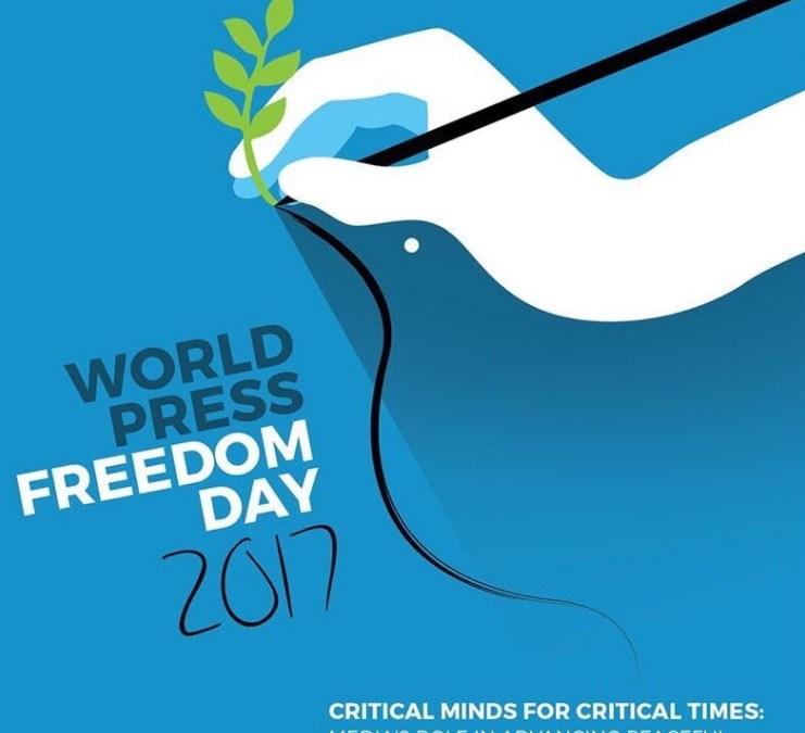 اليوم العالمي لحرية الصحافة : «عقول نيرة في أزمنة صعبة»