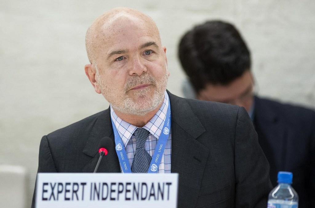 تقرير المقرر الخاص  ميشيل فورست المعني بحالة المدافعين عن حقوق الإنسان