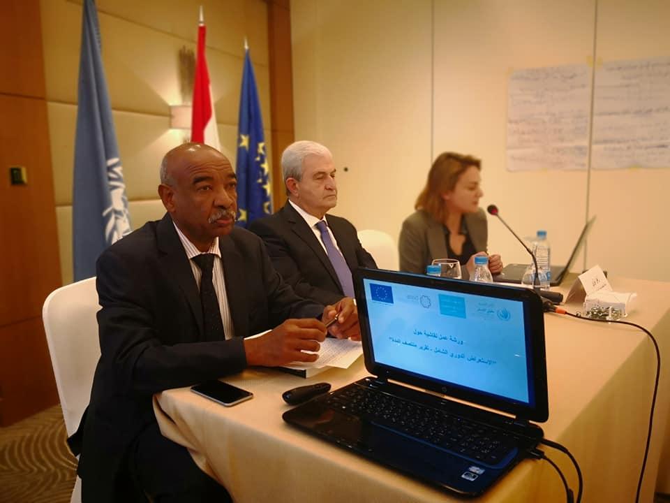 الرائد ديالا المهتار توضح اجراءات الامن الداخلي لمكافحة العنف الاسري امام لجنة سيداو في الأمم المتحدة