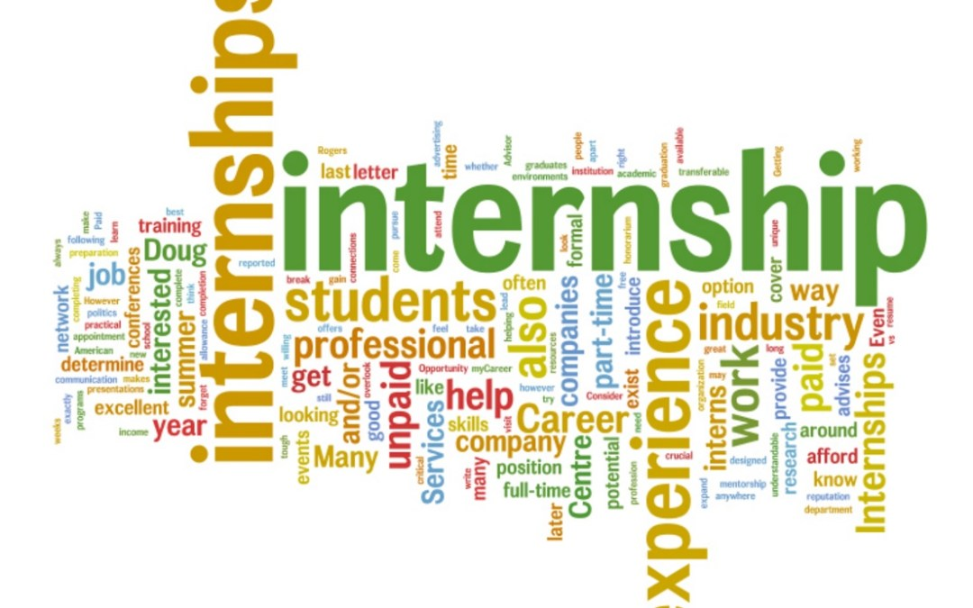 Internship opportunities now available