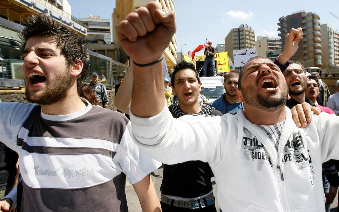 تقرير حول إستطلاع رأي بين طلّاب الجامعات عن الحياة الحزبية والسياسية في لبنان