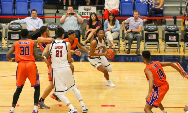 Men's basketball: Owls defeat Edward Waters 91-59 in home ...