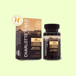 Charlotte web cbd Capsules by UprightCBD