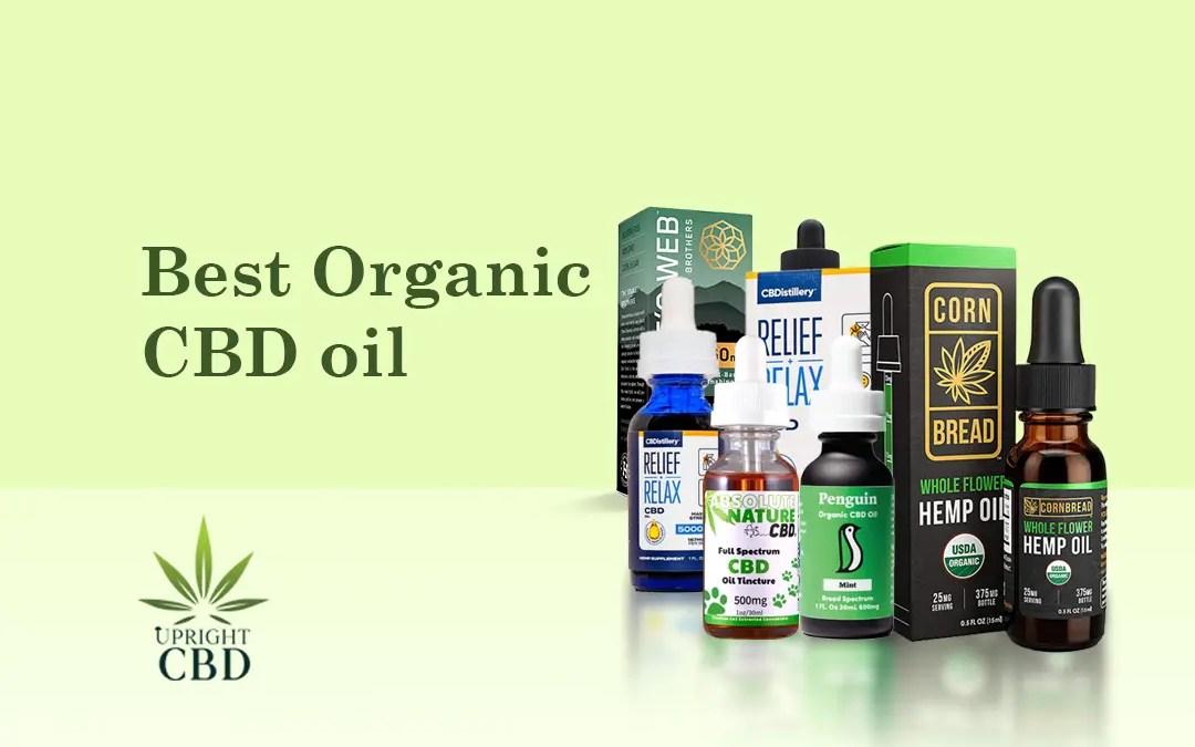 Best Organic CBD oil cover