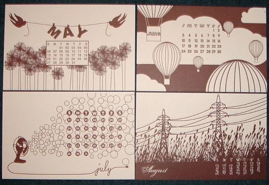happify Unique Calendar Designs