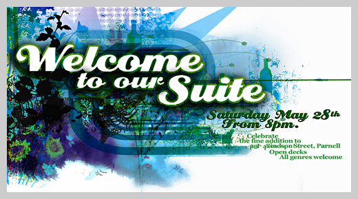 Sample Party Invitations - Flat Party