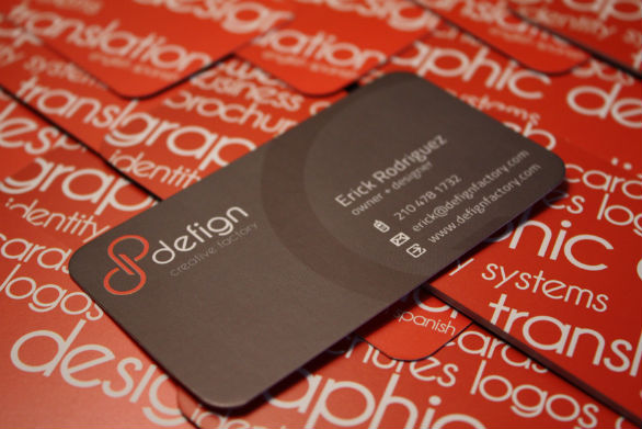 Custom Shaped Business Cards - Defign Creative