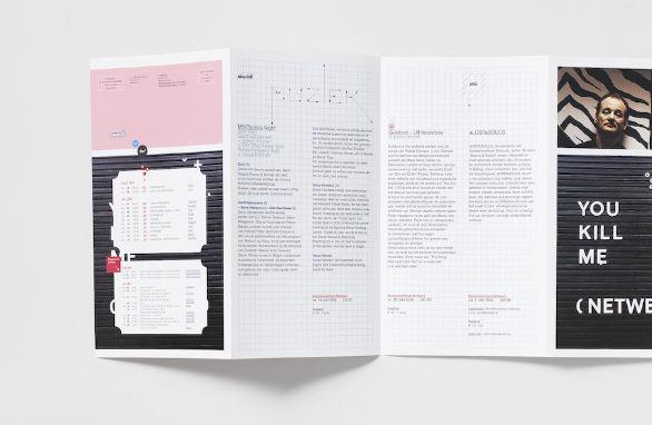 Event Brochure Design Examples - Kunstcentrum Netwerk