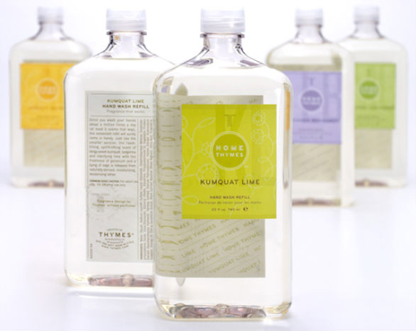 Product Label Design - Thymes