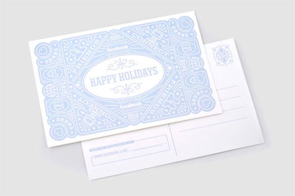 Holiday Card Ideas - Facebook Card