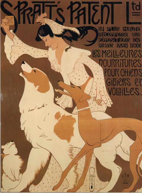 Art Nouveau Poster-woof