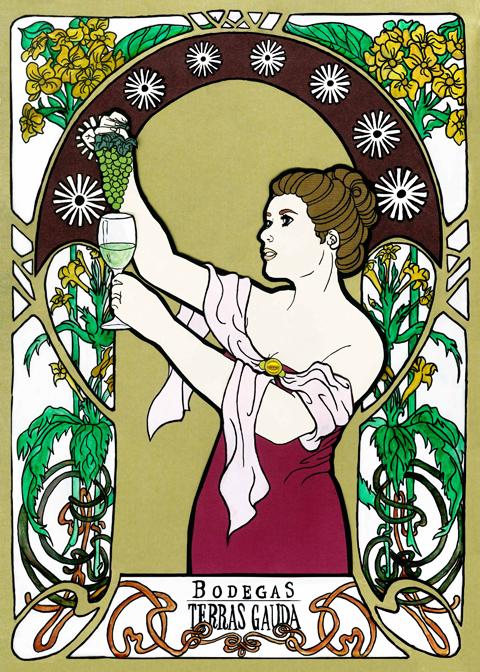 Art Nouveau Poster - amateur