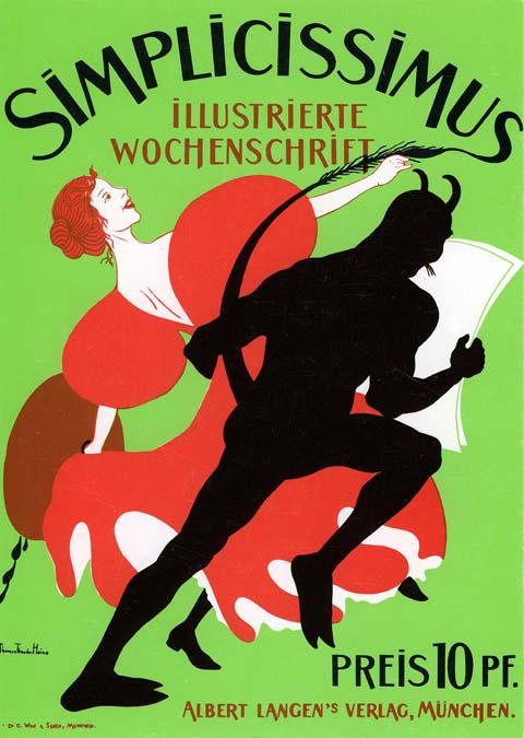 Art Nouveau Poster - jugendstil1