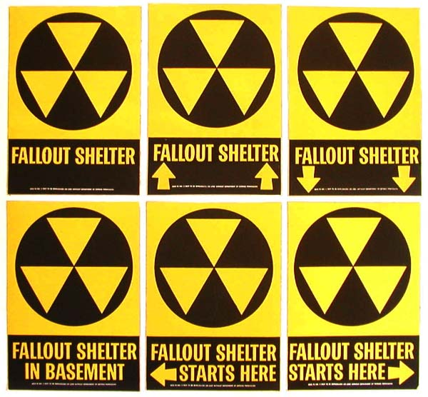 Vintage Home Front Posters- Radiation
