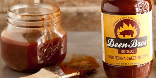 Deen Bros BBQ sauces jar labels