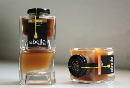 Abella jar label