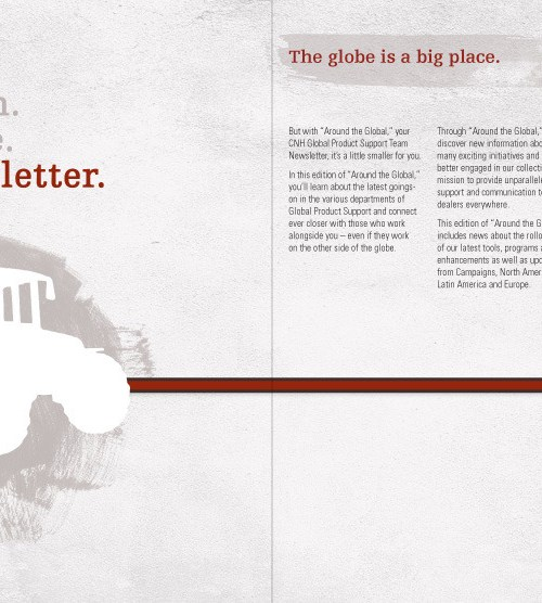 Case New Holland - Global Product Support Newsletter Inside