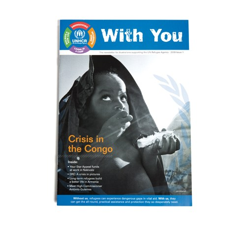 """UNHCR """"With You"""" Newsletter"""